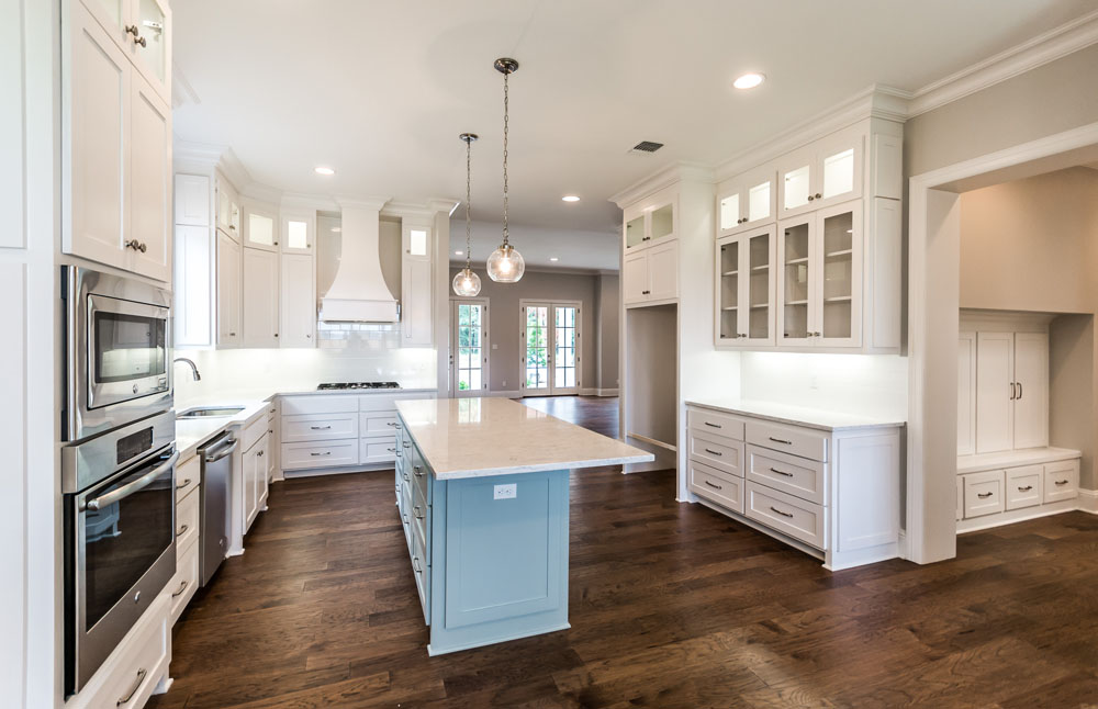 All White Kitchen in New Home for Sale in Provenance