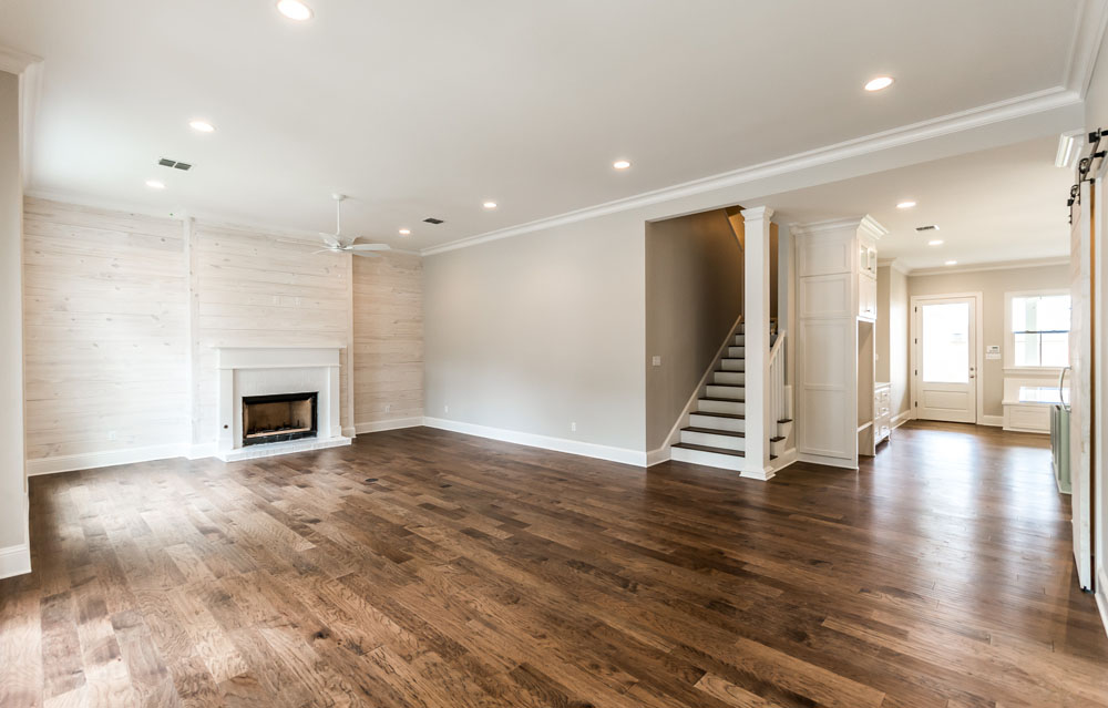 New Spec Home For Sale in Shreveport Living Room and Entry Photo