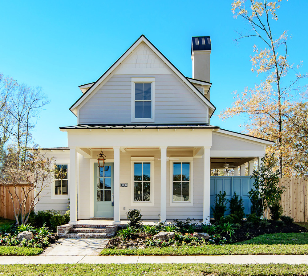 Southern living house plans sugarberry cottage for Southern living house